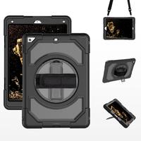 Miesherk: FHL-TJ tablet case for iPad 9.7 inch 2017/2018- Black
