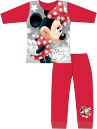 Disney: Minnie Mouse Girls Pyjama Set - Red/5-6 image