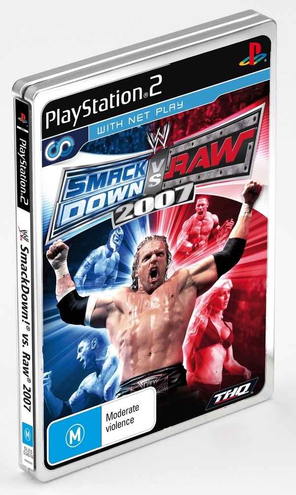 WWE SmackDown! vs. RAW 2007 Tin Box Edition for PlayStation 2 image
