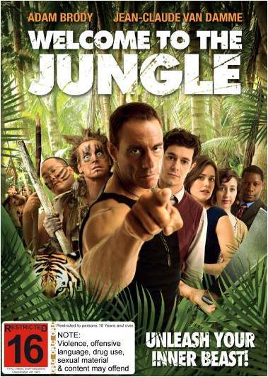Welcome to the Jungle on DVD