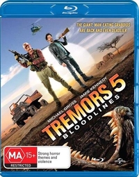 Tremors 5: Bloodlines on Blu-ray