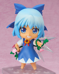 Touhou Project: Nendoroid Cirno (Suntanned Ver.) - Articulated Figure