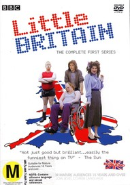 Little Britain - The Complete First Series (2 Disc) on DVD