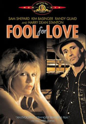 Fool For Love on DVD