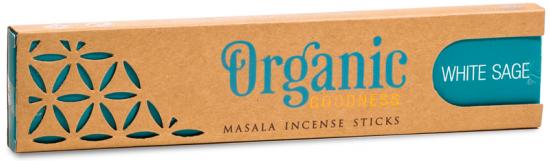Organic Masala Incense Sticks - White Sage (15g)