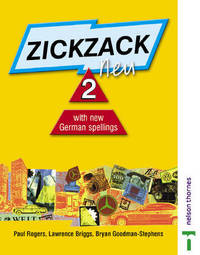 Zickzack Neu: With New German Spellings: Stage 2: Student's Book by Paul Rogers image