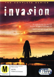 Invasion - The Complete Series (6 Disc Set) on DVD