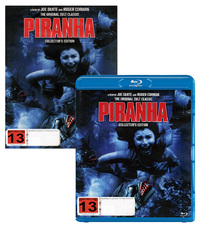 Piranha - Double Play on DVD, Blu-ray