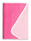 Brolly Sheets King Single Size Sheet Bed Pad - Pink