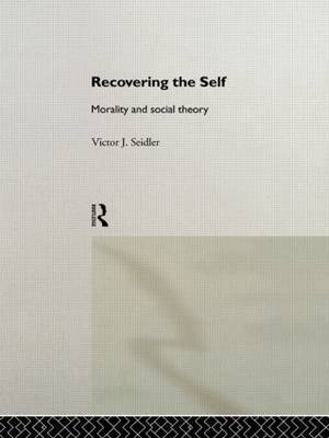 Recovering the Self by Victor Jeleniewski Seidler