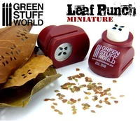 Green Stuff World - Miniature Leaf Punch (Red)