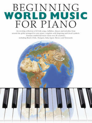 Beginning World Music For Piano by Music Sales image