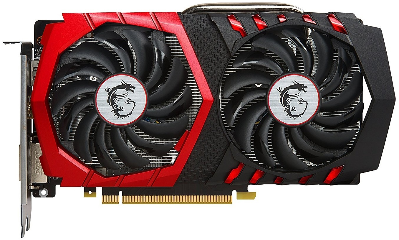 MSI GeForce GTX 1050 TI Gaming X 4GB Graphics Card image