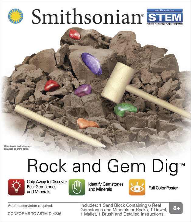 Smithsonian: Micro Science kits - Rock & Gem Dig Kit