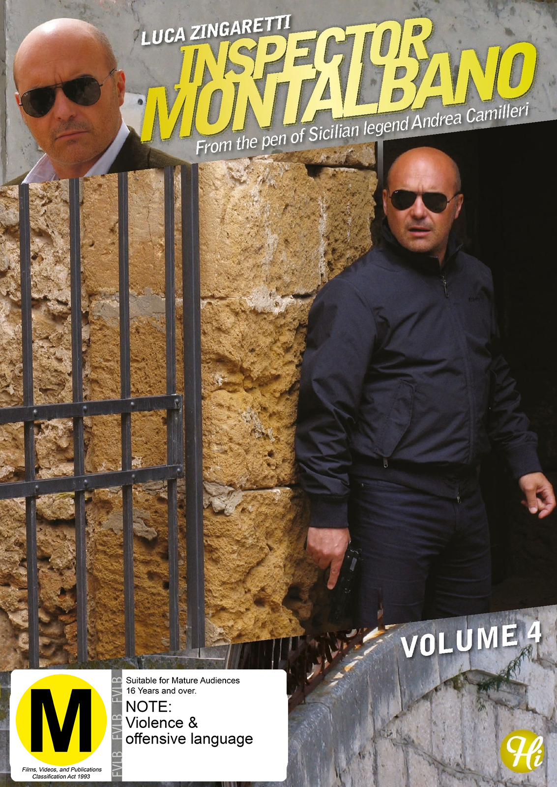 Inspector Montalbano - Vol 4 on DVD image