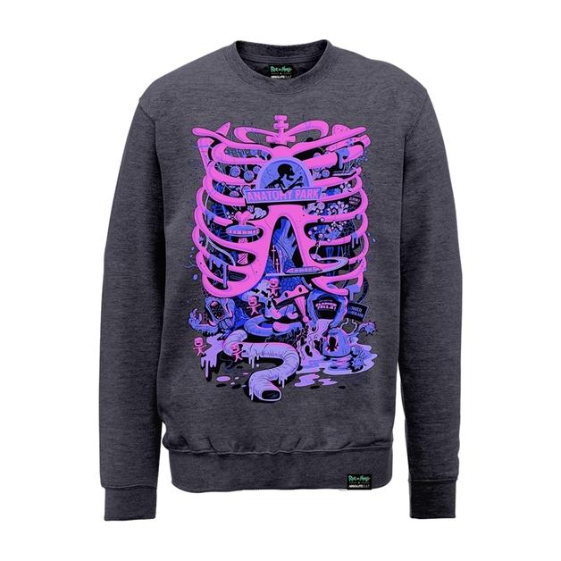 Rick and Morty: Anatomy Park Sweatshirt (X-Large)
