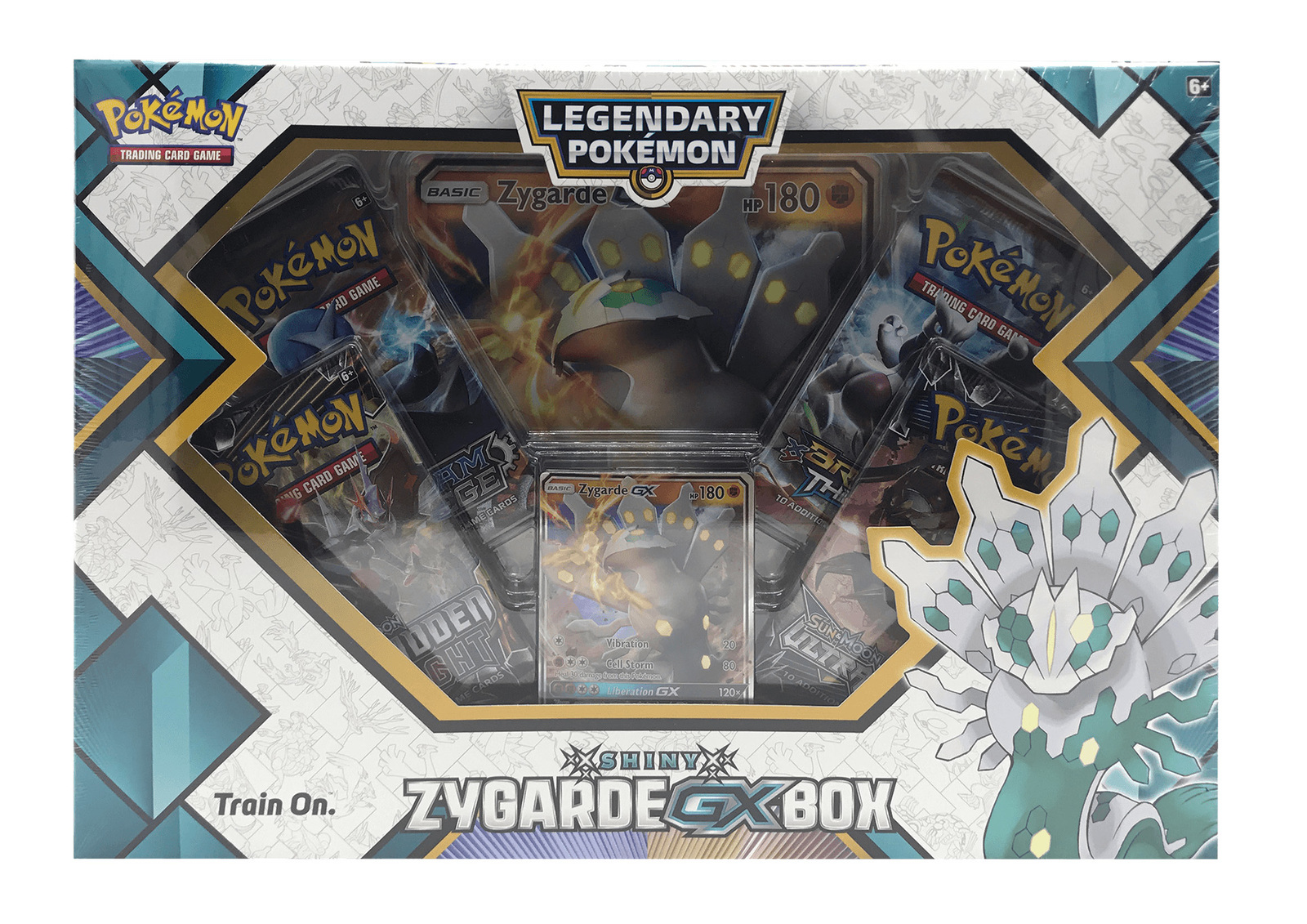 Pokemon TCG: Shiny Zygarde- GX Box