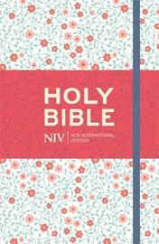 NIV Thinline Floral Cloth Bible by New International Version