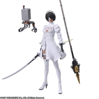 NieR: Automata Bring Arts YoRHa No.2 Model B Version 2.0(2P Color Version) - Action Figure