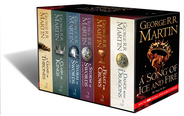 A Game of Thrones: The Story Continues (Volumes 1-5) 6 Books by George R.R. Martin