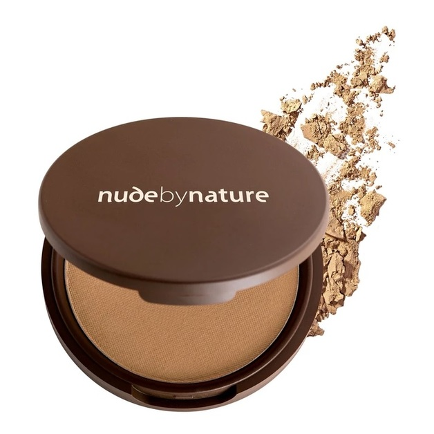 Nude By Nature: Mineral Pressed Powder - Olive (10g)