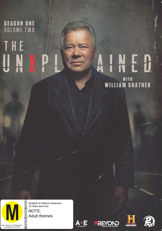 The UnXplained: With William Shatner - Season 1 (Volume 2) on DVD