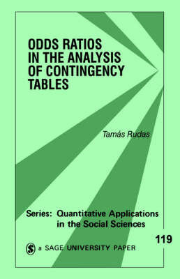 Odds Ratios in the Analysis of Contingency Tables by Tamas Rudas image