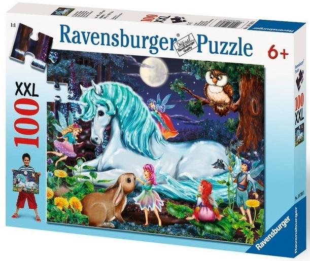 Ravensburger 100 Piece Jigsaw Puzzle - Unicorns World