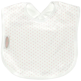 Silly Billyz Large Bib (Pink Spots)
