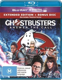 Ghostbusters (2016) on Blu-ray