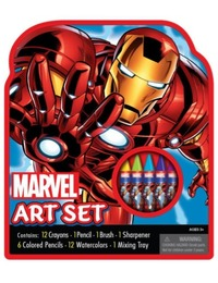 Marvel Ironman Small Character Art Case