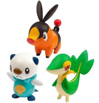 Pokemon: Moncolle EX Unova Starters - 20th Anniversary Set