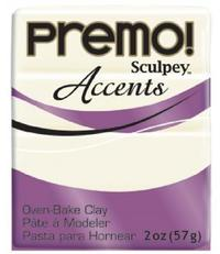 Sculpey Premo Accent White Translucent (57g)