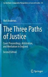 The Three Paths of Justice by Neil Andrews
