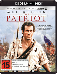 The Patriot on UHD Blu-ray