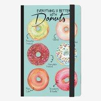 Legami: Medium Notebook - Six Donuts