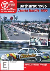 Magic Moments of Motorsport- 1986 James Hardie 1000 on DVD