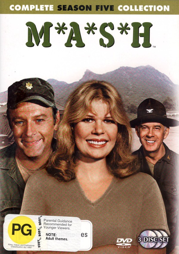 MASH - Complete Season 5 Collector's Edition (3 Disc Box Set) on DVD image