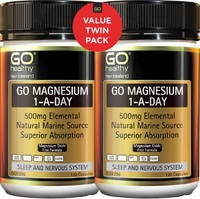 GO Healthy - GO Magnesium 1-A-Day (2x120s)