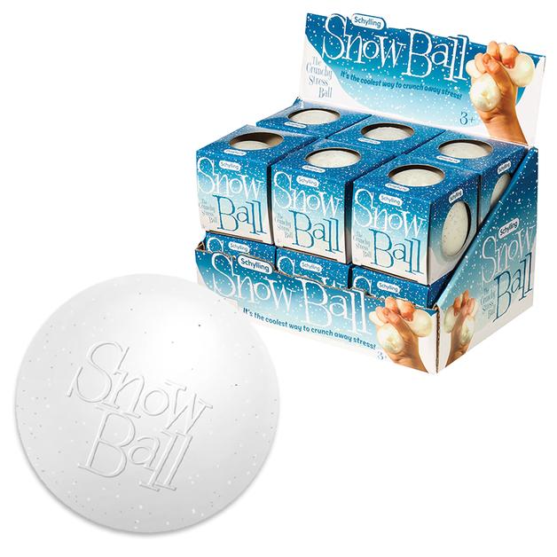 Schylling: Snow Ball - Crunch Stress Ball