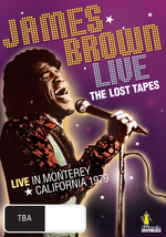 James Brown - Live: The Lost Tapes on DVD