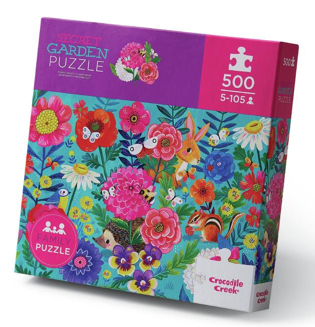 Crocodile Creek: 500-Piece Puzzle - Secret Garden