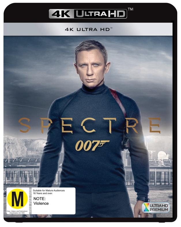 Spectre (4K Ultra HD Blu-ray) on UHD Blu-ray