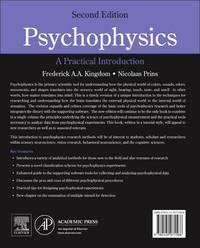 Psychophysics by Nicolaas Prins