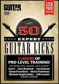 Guitar World -- 50 Expert Guitar Licks: 2 Hours of Pro-Level Training!, DVD by Alfred Publishing