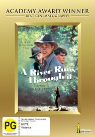 A River Runs Through It: Academy Award Winner on DVD image