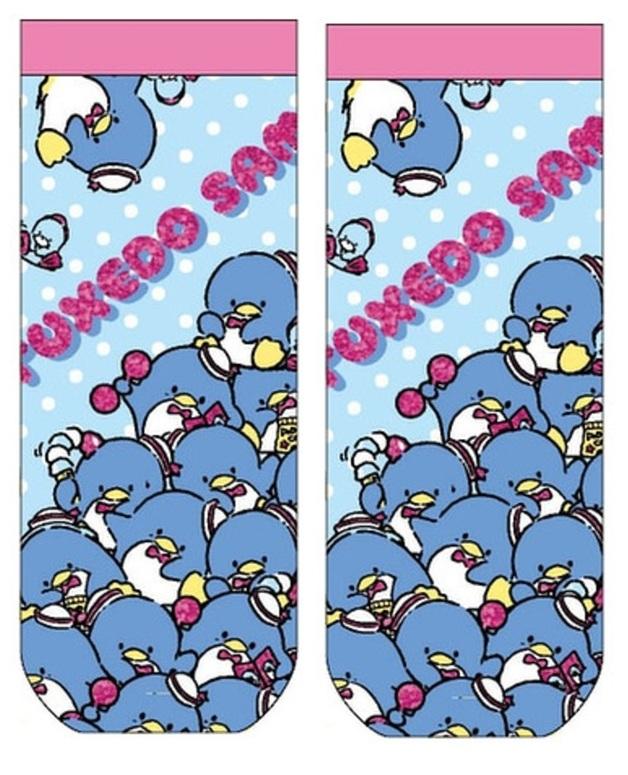 Tuxedo Sam - Jacquard Socks