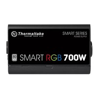 700W Thermaltake: Smart RGB Power PSU - 80 Plus; Non Modular; Fan Hub image