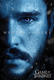 Game Of Thrones: Winter is Here - Jon Maxi Poster (679)