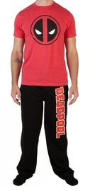 Marvel: Deadpool Logo - Sleep Set (2XL)